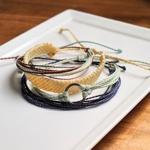 Pura Vida bracelets - set of 4